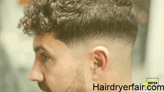 Curly Crew Cut