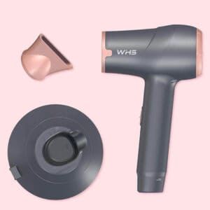 WHS Cordless Portable Hair Dryer Hot and Cold Wind Rechargeable Lithium Battery