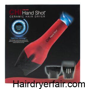 CHI Hand Shot Handle-Free Hair Dryer