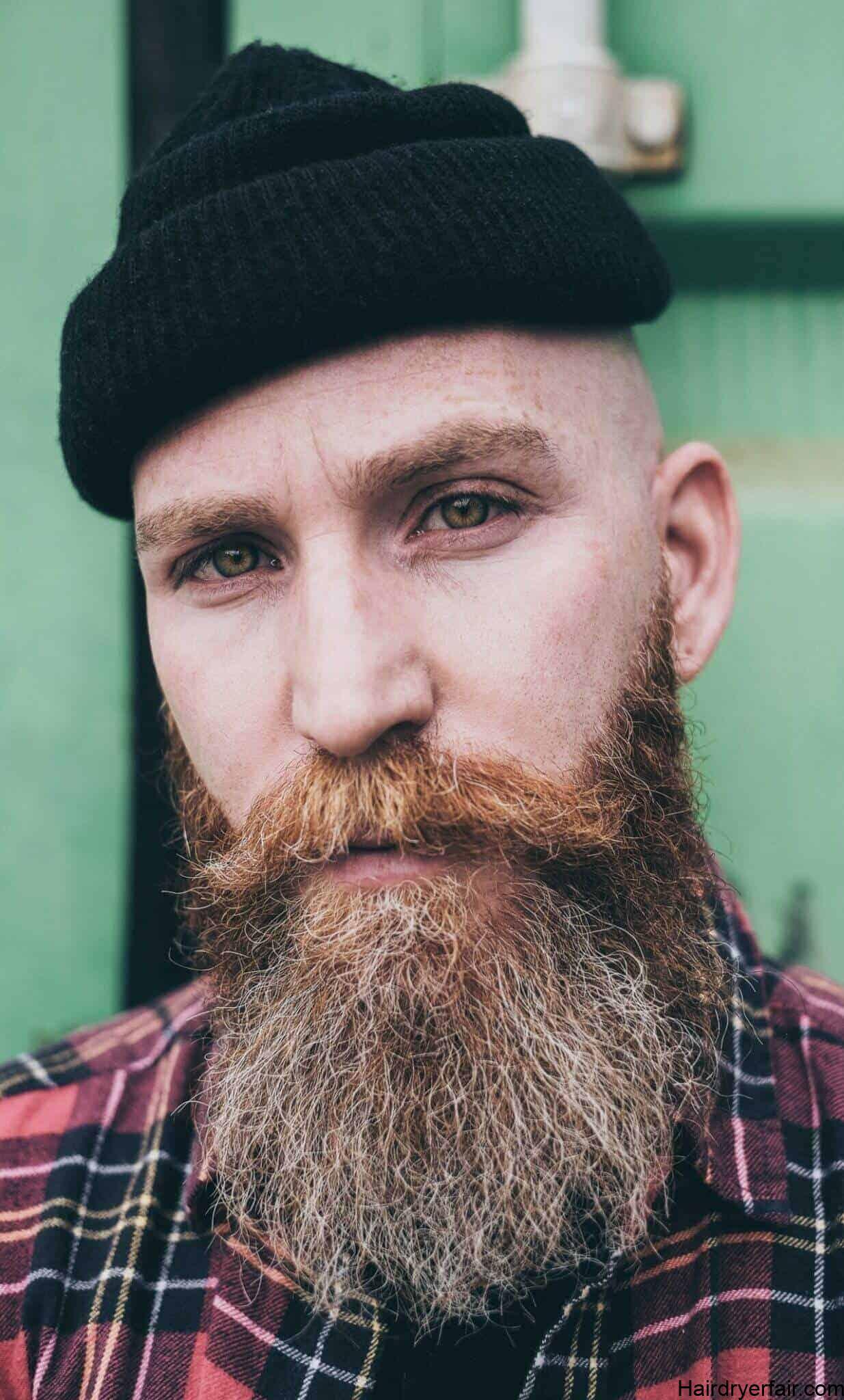 Bald With Full Beard