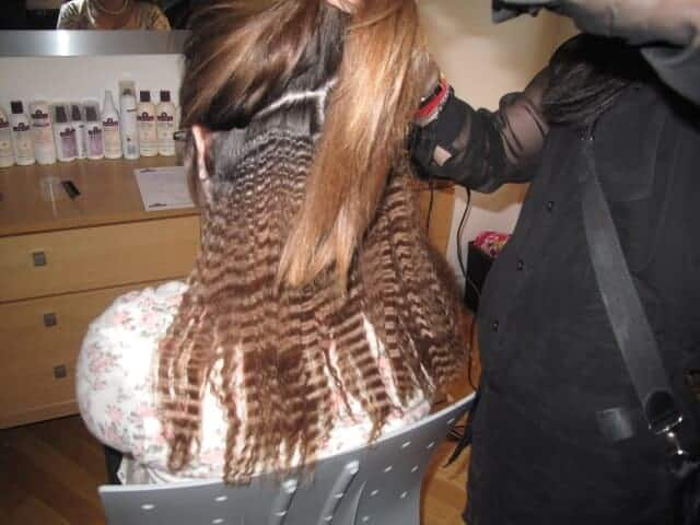Crimped Hair in 2012