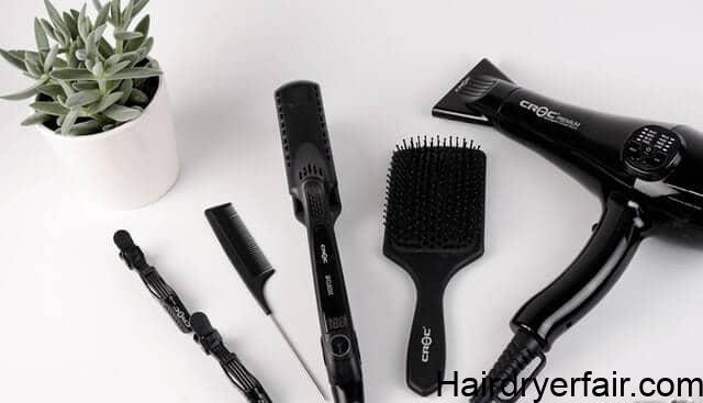 best hot air brush for short fine hair tools