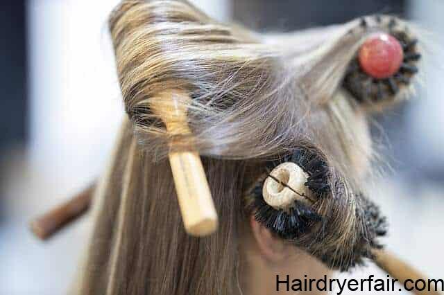 best hot air brush for short fine hair styling