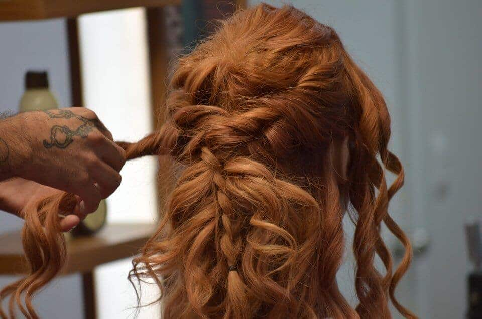 how to make a ponytail with a bump braided