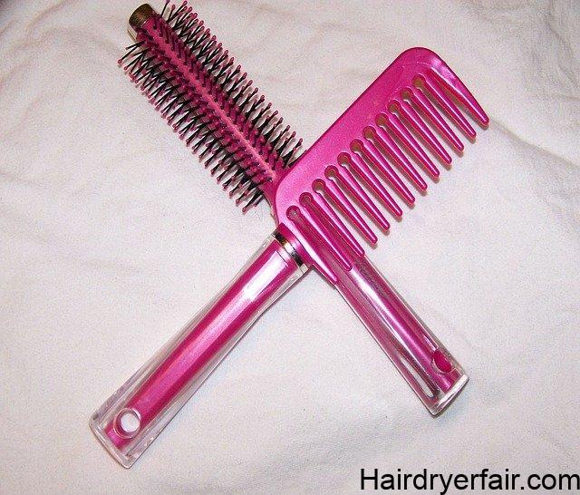 best round brush for damaged hair
